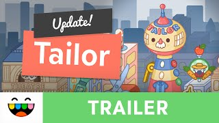NEW Location * The Tailor | Toca Life: City | Gameplay Trailer | @TocaBoca