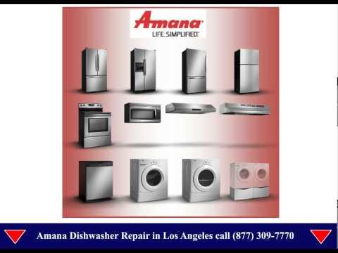 Amana Dishwasher Repair Los Angeles