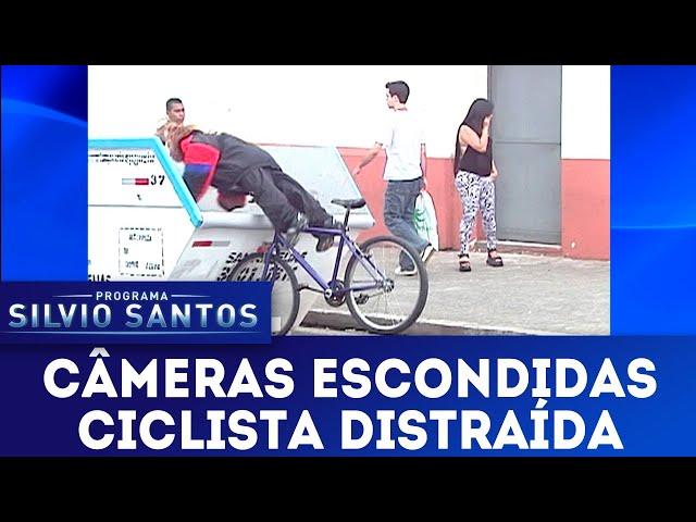 Ciclista Distraída | Câmeras Escondidas (03/03/19)