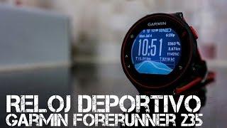 Review reloj deportivo Garmin Forerunner 235 con funciones de smartwatch