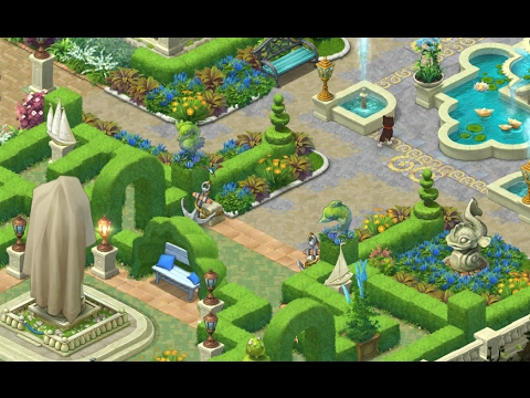 Gardenscapes New Acres Gameplay Story Playthrough Area 3 Maze Day 5 Youtube