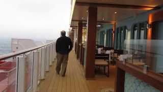 """a walk down """"The Waterfront"""" of the Norwegian Breakaway @CruiseNorwegian #NorwegianBreakaway"""