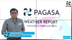 Public Weather Forecast Issued at 4:00 AM February 11, 2019