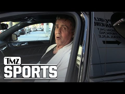 Sylvester Stallone 'Worried' About Conor McGregor, At 'Crossroads' In Life