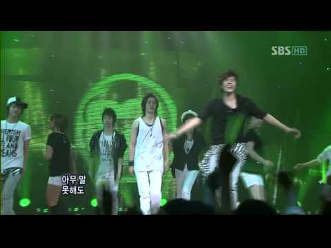 SS501  A Song Calling For You Remix 20080525 SBS Popular Song