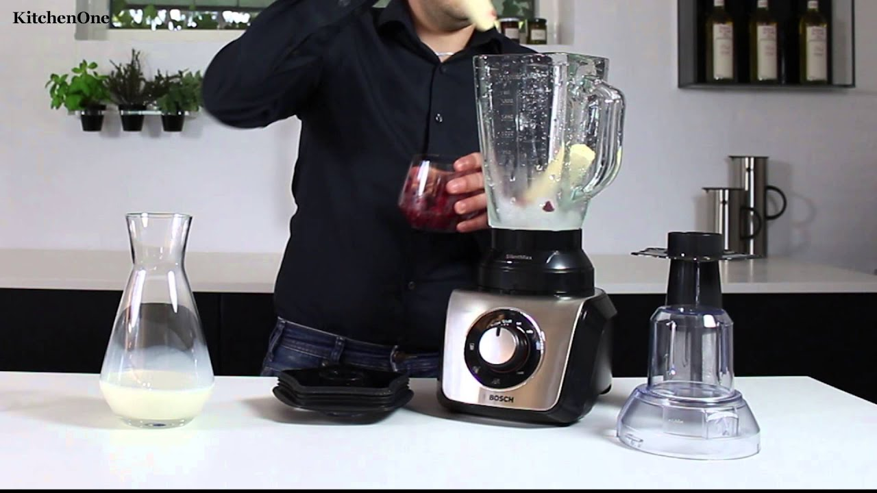 Bosch SilentMixx blender - YouTube cca34d63941