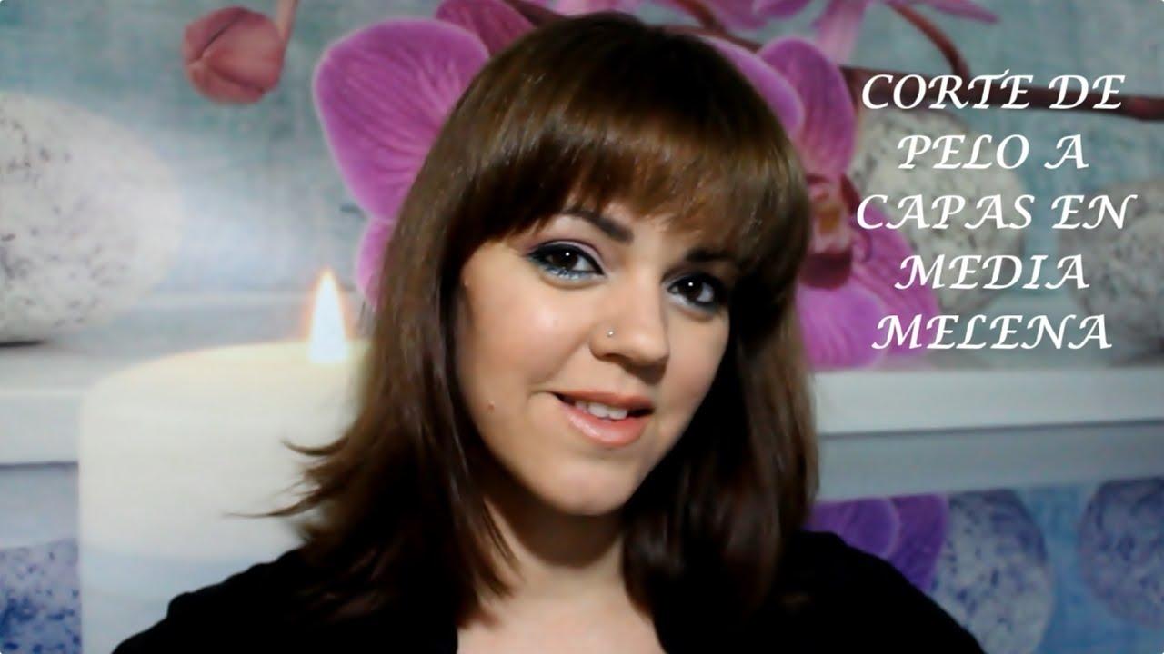 CORTE DE PELO A CAPAS EN MEDIA MELENA - YouTube 03f48edfc62f