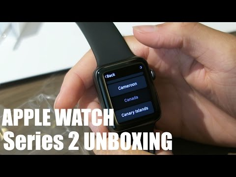 Apple Watch Series 2 Unboxing & Eject Water Test!