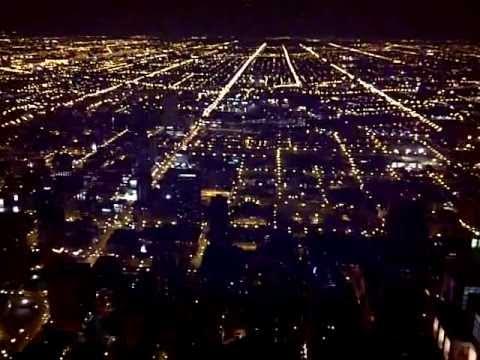 View From John Hancock Building At Night