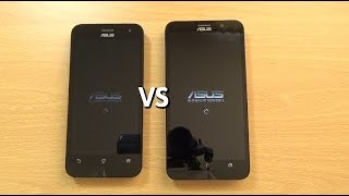 Asus Zenfone 2 ZE500CL VS Zenfone 2 ZE550ML - Speed & Camera Test!