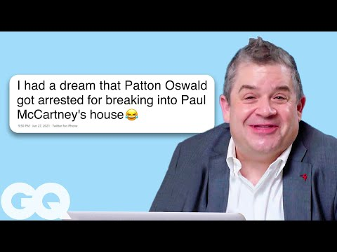 Patton Oswalt Goes Undercover on Reddit, Twitter & Wikipedia | Actually Me | GQ