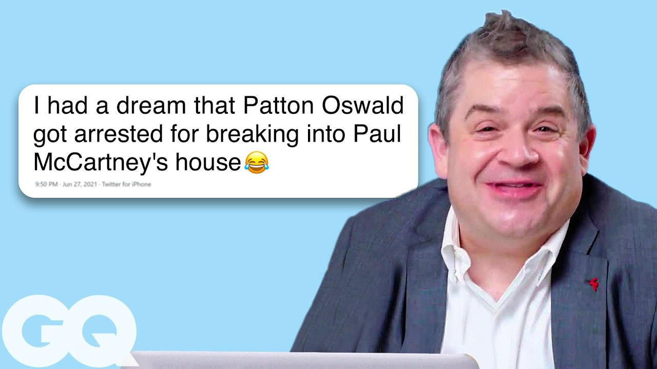 Wedding Chair Covers Reddit Design Contemporary Patton Oswalt Goes Undercover On Twitter Wikipedia Actually Me Gq