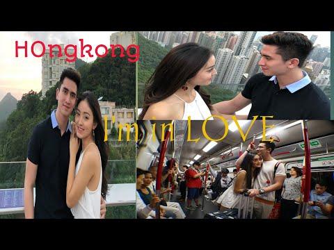 Verrel bramasta dan Natasha wilona liburan romantis  di Hongkong dan Macau..romantis buanget!!
