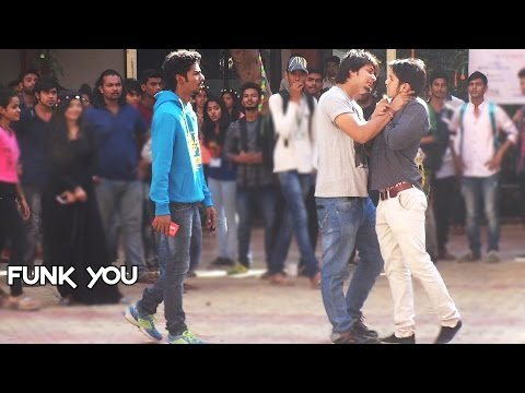Ragging Social Experiment in College by Funk You (Pranks in India)