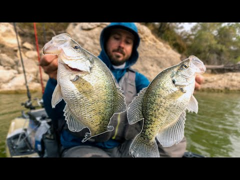 How To Catch & Cook CRAPPIE (Kayak Fishing)