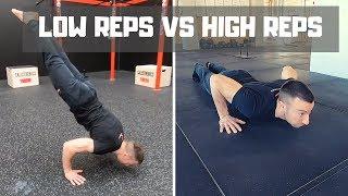 Basse Ripetizioni vs Alte Ripetizioni  a confronto per metter su Forza e Muscoli