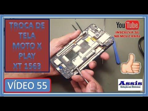 Troca da Tela Moto X play XT 1563 V#55
