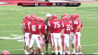 Game Recap: Sprint Football | Cornell vs. Franklin Pierce 9/20/14