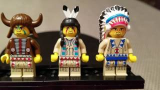 Lego Indians from 1997 to 2002 are the only minifigures with noses!