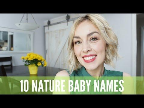 10 BABY NAMES I LOVE BUT WON'T BE USING | NATURE NAMES | AmandaMuse