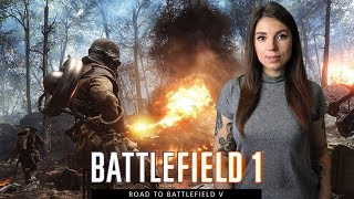 BATTLEFIELD 1 - ROAD TO BATTLEFIELD V - CONQUEST, MIXED MAPS - PS 4 PRO GAMEPLAY