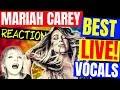 Gambar cover 🦋 Mariah Carey Reaction, Best Live Vocals  - Vocal Coach Reacts - Mariah Reaction