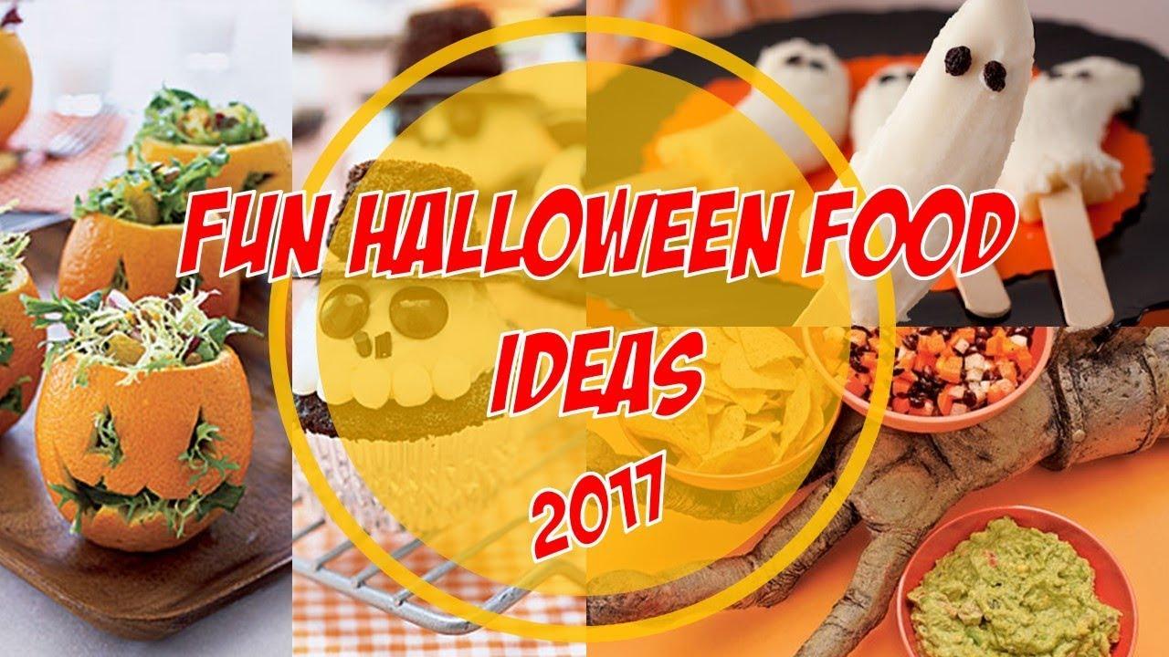 Fun Halloween Food Ideas 2017 - YouTube