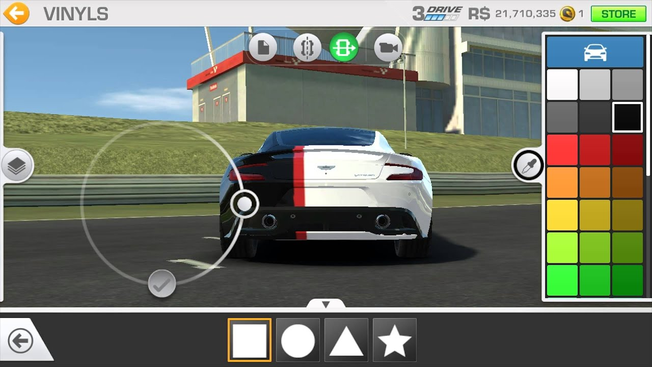 Custom how to get perfect stripes for free in real racing 3 vinyls customize