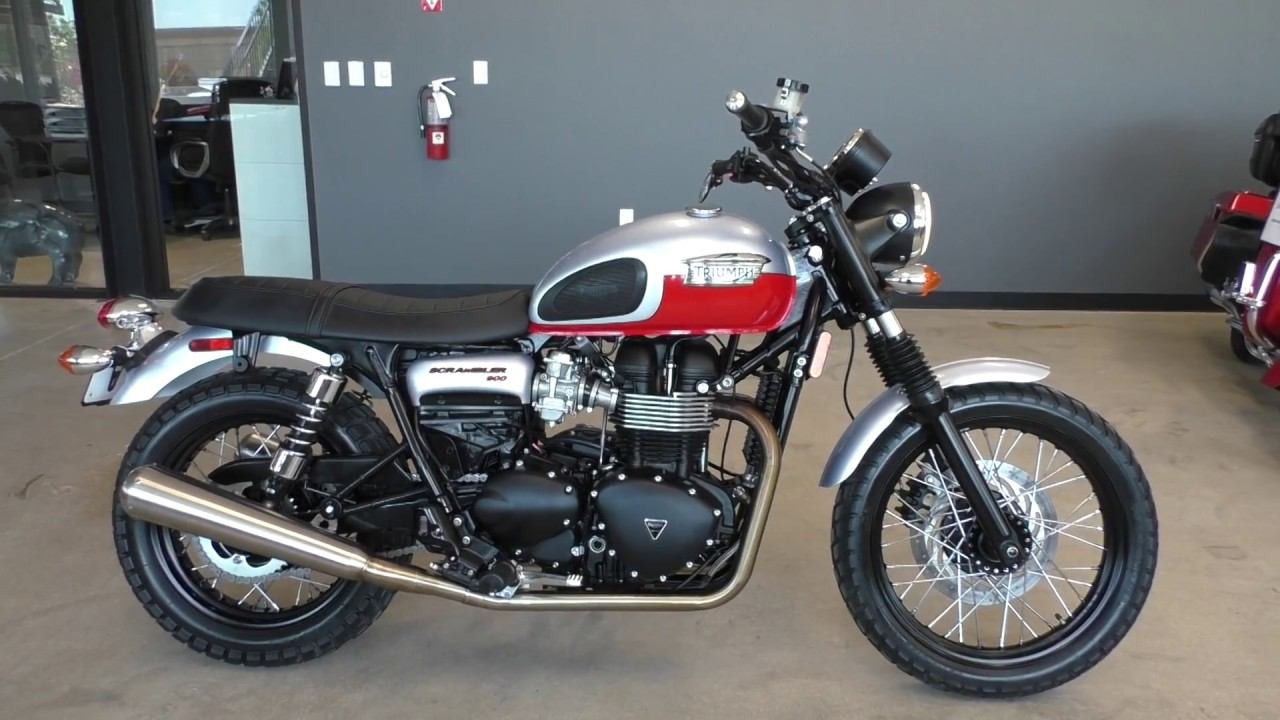 618170 2014 Triumph Scrambler 900 Used Motorcycles For Sale Youtube