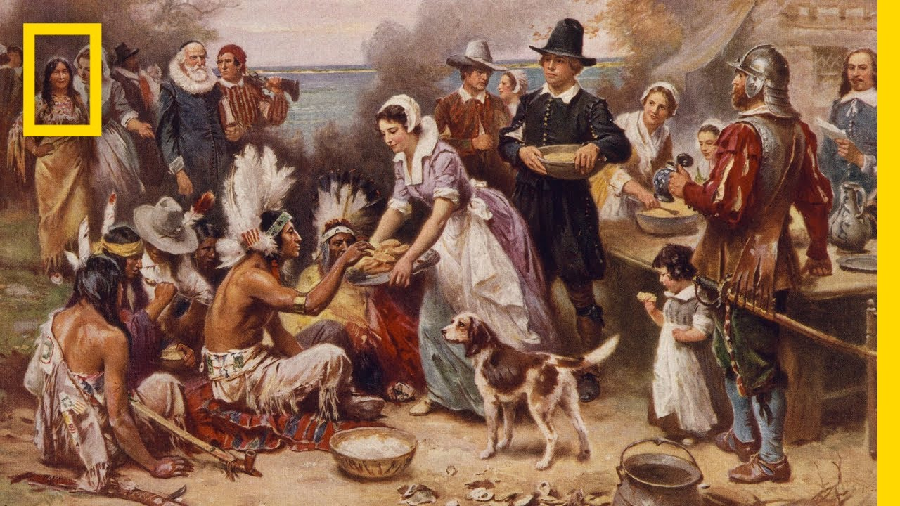 what is the history of thanksgiving national geographic youtube