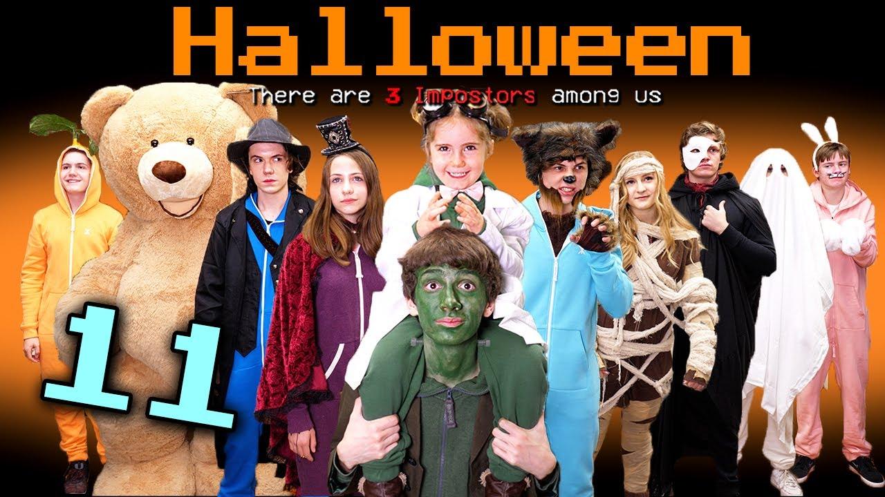 Download If Among Us Had a Halloween Mod