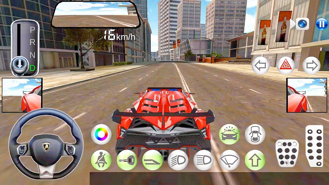 3d Driving Class Korean City Car Driving Simulator