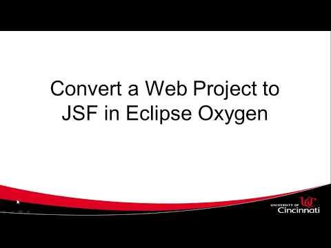 Add Mojarra Libraries, JSF to Web Project in Eclipse Oxygen, fix zip file is empty