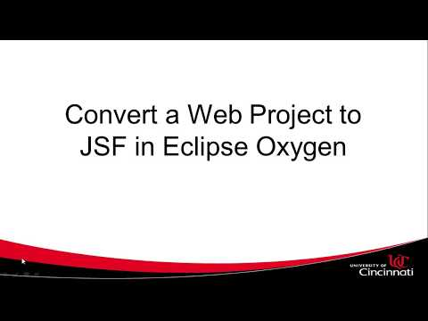 Add Mojarra Libraries, JSF To Web Project In Eclipse Oxygen, Fix Zip File Is Empty