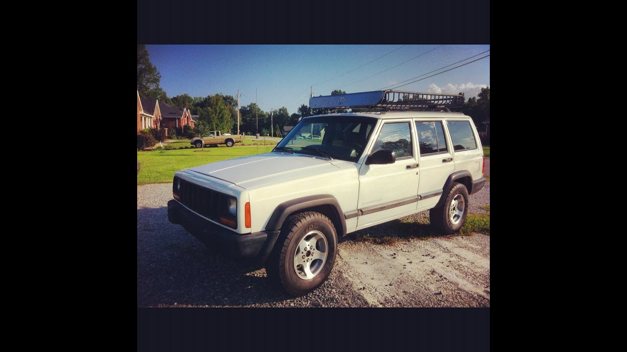 1998 Jeep Cherokee Sport 6cyl 4.0L (4X4) (White)   YouTube