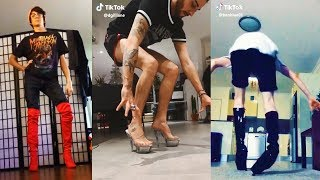 Men in Heels Challenge TikTok Compilation