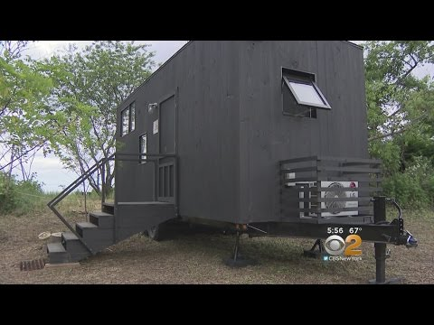 Tiny Houses Make For Simplistic Getaway In The Big Apple