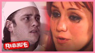 Rebelde: Roberta cree que Diego apostó con ella | Escena C398-C399-C400| Tlnovelas