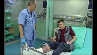 Założył sobie gips budowlany na nogę żeby wymusić urlop [Szpital ODC. 725]
