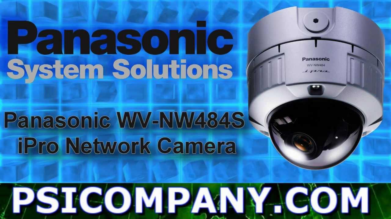 PANASONIC WV-NW484S NETWORK CAMERA WINDOWS 7 X64 DRIVER