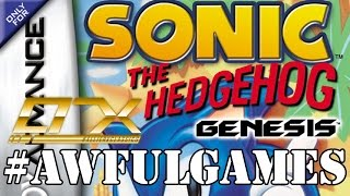 AWFUL GAME: Sonic the Hedgehog Genesis (Game Boy Advance) - Part 1 | #AllieRXClassics