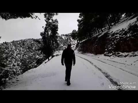 مدينة  أمزميز و النواحي  تكتسي البياض تحت غطاء الثلوج  Amizmiz
