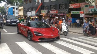 India's First McLaren in Bangalore ! People go bonkers seeing it !!