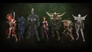 DIABLO III All Classes  including the Necromancer & the Crusader