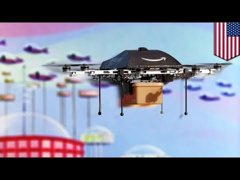 Amazon Prime Air delivery drones traffic rules proposed at NASA conference - TomoNews