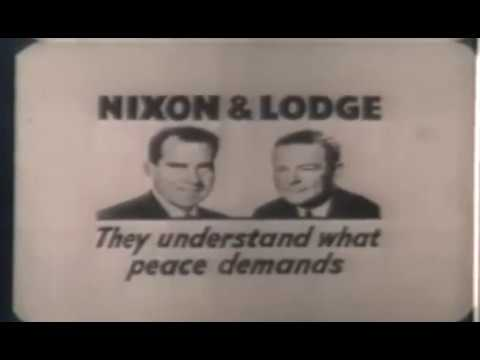 1960 U.S Elections - Nixon says times are good under IKE