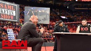 """The Sami & Kevin Show"" premieres: Raw, April 23, 2018"