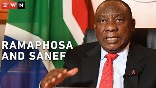 President Cyril Ramaphosa engaged with Sanef in a virtual question-and-answer session on Wednesday evening. Here are the highlights.