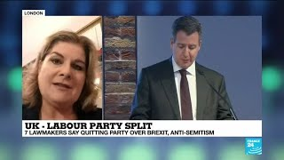 UK Labour MPs leave party over Brexit, anti-semitism