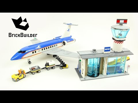 how to build lego city airport